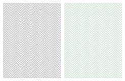 Set Bezszwowi Śliczni szewronów wzory Delikatni pastelowi kolory ilustracja wektor