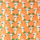 Set bezszwowi wzory z figlarkami Deseniuje kreskówka koty Obrazy Stock