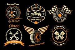 Set bieżna odznaka Obraz Stock