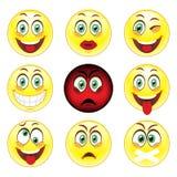 Set big emotions Stock Images