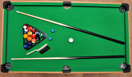 Set for billiards Stock Image