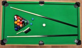 Set for billiards Stock Image