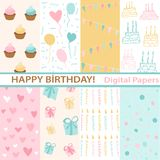Set of Birthday Stock Images