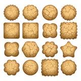 Set of biscuit cookies. vector  Stock Photography