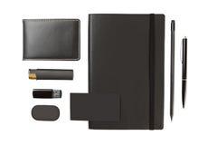 Set biurowy materiały Fotografia Stock