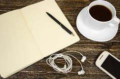 Set biznesów tematy, szkoła i biurowe dostawy, Zdjęcie Stock
