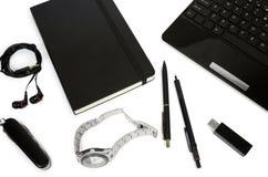 Set biznesów tematy, szkoła i biurowe dostawy, Zdjęcie Royalty Free