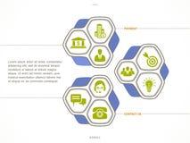 Set Biznesowe ikony Obraz Stock