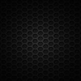 Set 8 black carbon fiber mesh on gray metal plate. Set 8. black carbon fiber mesh on gray metal plate. background and texture. 3d illustration Stock Photo