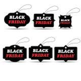 Set black friday discount Stock Photo