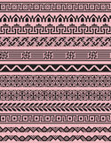Set of 12 black geometric borders. Elements are organized by groups. Pattern brushes are includes in vector file Stock Images