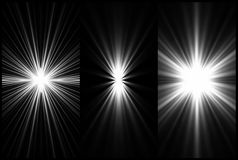 Set Black and White Lighting background. Vector. Set Black and White Lighting. Vector illustration Royalty Free Stock Image