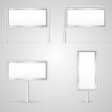 Set of blank City Light illustrations Stock Photos