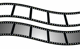 set blank film strip background Stock Images