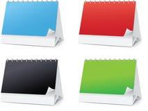 Set blanks for Desktop calendars Stock Image