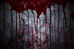Set 8. bloody metal wall  in the dark Royalty Free Stock Photo