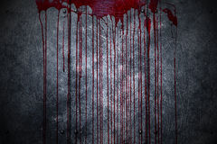 Set 8. bloody metal wall  in the dark Royalty Free Stock Image