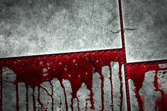Set 8. bloody metal wall Royalty Free Stock Photos