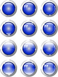 Buttons flash Royalty Free Stock Images