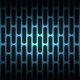 Set 8 blue carbon fiber mesh on black metal plate. Set 8. blue carbon fiber mesh on black metal plate. background and texture. 3d illustration Royalty Free Stock Image
