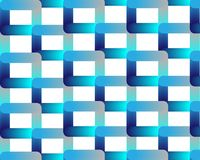 Neon blue blue grid on white background royalty free illustration