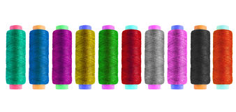 Set of bobbins Stock Image