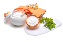 Set for body care royalty free stock images