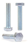 Set of bolts isolated Stock Photos