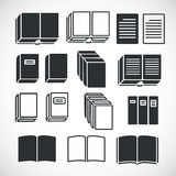 Set of Book Icons Stock Photography