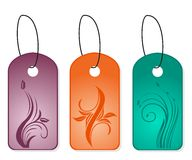 Set bookmark designs. Illustration of set style bookmark designs. Vector Stock Photography