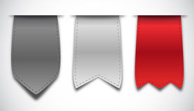 Set of bookmarks Royalty Free Stock Image