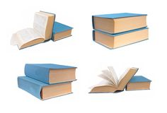 Set of books Royalty Free Stock Photo