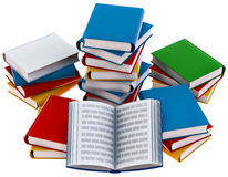Set of books Stock Photo