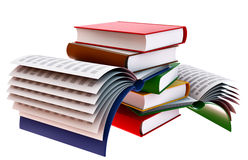 Set of books Stock Photos