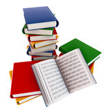 Set of books Stock Photography