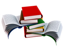 Set of books Royalty Free Stock Image