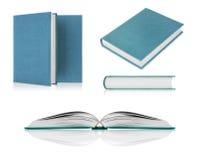 Set of books closeup  on white Stock Image