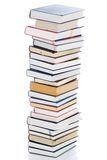 Set of books isolated on a white Royalty Free Stock Images