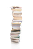 Set of books isolated on a white Royalty Free Stock Photos