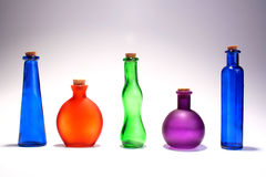 Set of bottles Royalty Free Stock Image