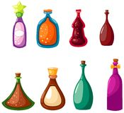 Set of bottles Royalty Free Stock Photos