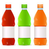 Set of bottles. Vector illustration Stock Photos