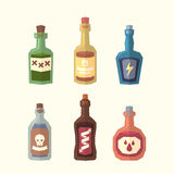 Set of bottles Stock Images