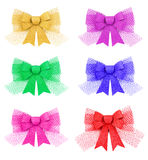 Set of bow. Stock Photography