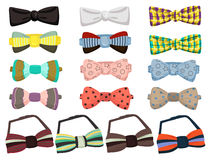 Set of bow ties Stock Image