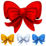 Set from bows Royalty Free Stock Images