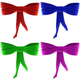 A set of bows Royalty Free Stock Image