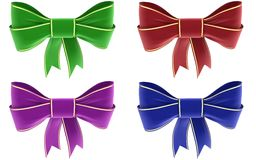 A set of bows Stock Images