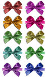 Set of bows. On a white background Stock Image
