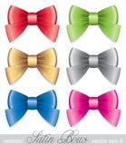 Set of bows Royalty Free Stock Photo